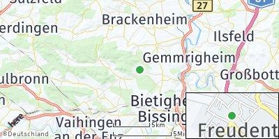 Google Map of Freudental