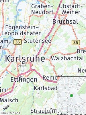Here Map of Grötzingen