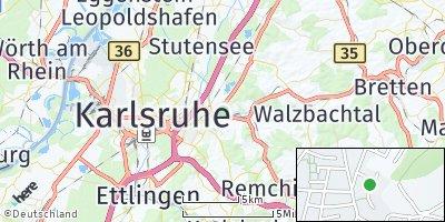 Google Map of Grötzingen