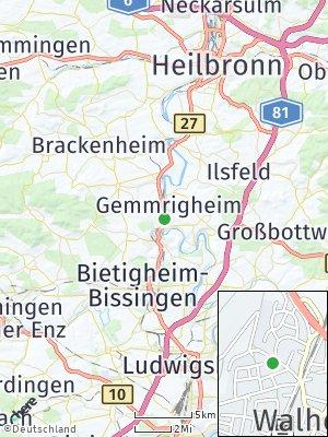 Here Map of Walheim