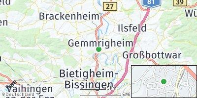 Google Map of Walheim