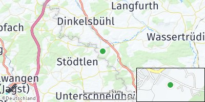 Google Map of Mönchsroth