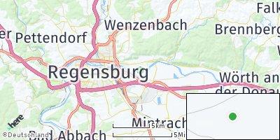 Google Map of Tegernheim
