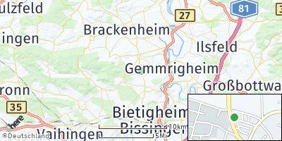 Google Map of Erligheim