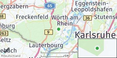 Google Map of Hagenbach
