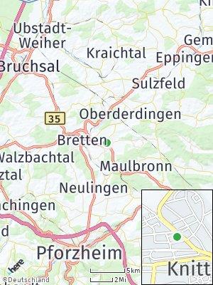 Here Map of Knittlingen