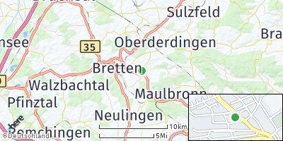 Google Map of Knittlingen