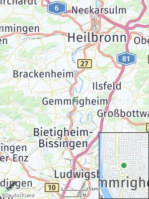 Here Map of Gemmrigheim