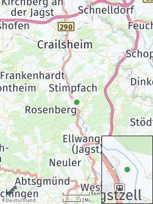 Here Map of Jagstzell