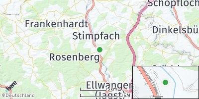 Google Map of Jagstzell