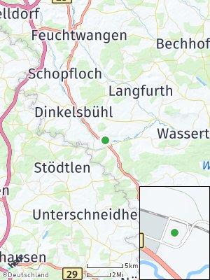 Here Map of Wilburgstetten