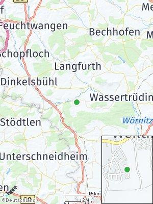 Here Map of Weiltingen