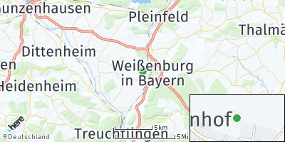Google Map of Hattenhof