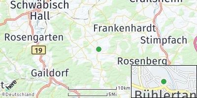 Google Map of Bühlertann