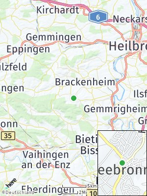 Here Map of Cleebronn
