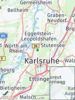 Here Map of Neureut