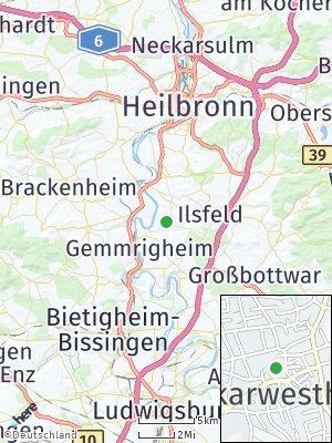 Here Map of Neckarwestheim