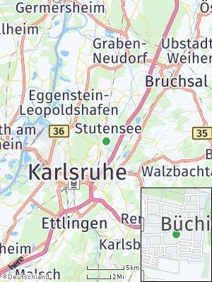 Here Map of Büchig