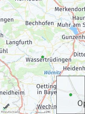 Here Map of Röckingen