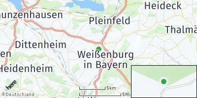 Google Map of Schmalwiesen in Bayern