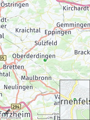 Here Map of Sternenfels
