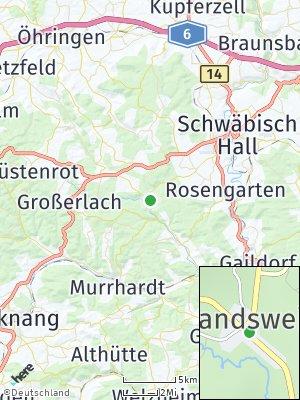 Here Map of Wielandsweiler