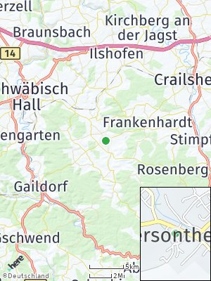Here Map of Obersontheim