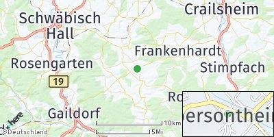 Google Map of Obersontheim