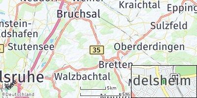 Google Map of Gondelsheim
