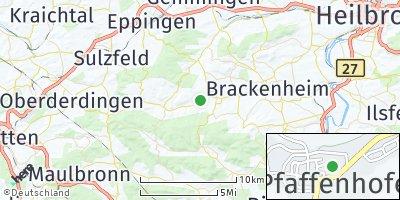Google Map of Pfaffenhofen