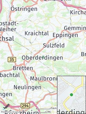 Here Map of Oberderdingen
