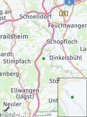 Here Map of Fichtenau