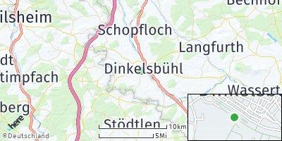 Google Map of Dinkelsbühl