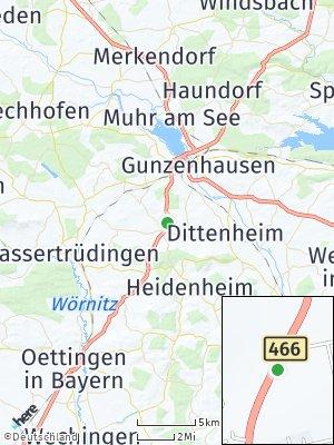 Here Map of Gnotzheim