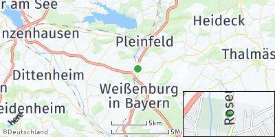 Google Map of Ellingen