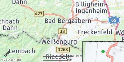 Google Map of Oberotterbach