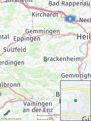 Here Map of Güglingen
