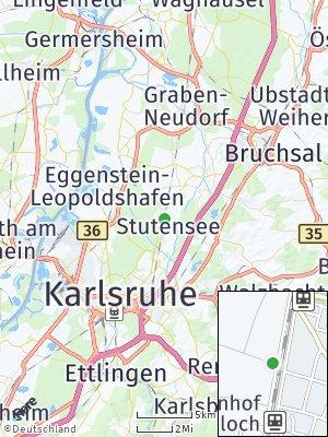 Here Map of Blankenloch
