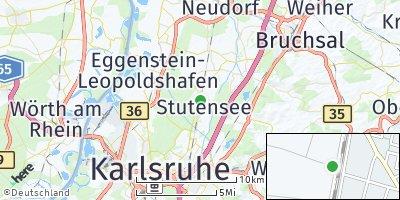 Google Map of Blankenloch