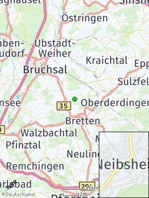 Here Map of Neibsheim
