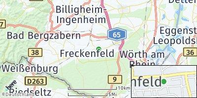 Google Map of Minfeld
