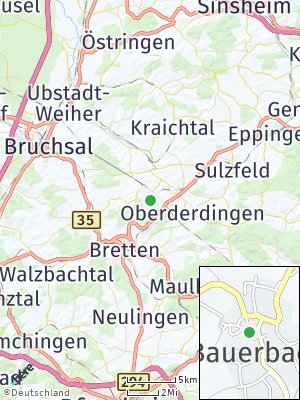Here Map of Bauerbach