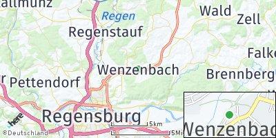 Google Map of Wenzenbach
