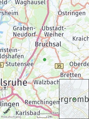 Here Map of Obergrombach