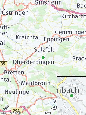Here Map of Kürnbach