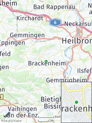 Here Map of Brackenheim