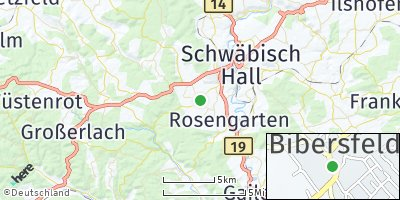 Google Map of Bibersfeld