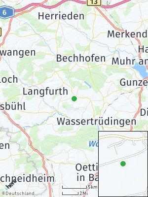 Here Map of Ehingen