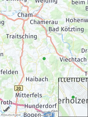 Here Map of Rattenberg