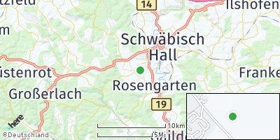 Google Map of Rosengarten